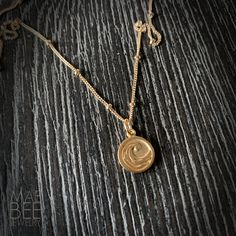 Gold Vermeil Wave Necklace for your fave surfer girl or beach babe (you, maybe?) from JewelryByMaeBee on #Etsy. www.jewelrybymaebee.etsy.com Beach Wedding Jewelry, Beach Jewelry, Beach Bum, Gold Filled Chain, Handmade Jewelry, Gold Necklace, Waves, Bling, Pearls