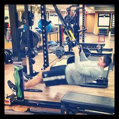 Exercise of the day: @Darko TRX rows. @ Target Center   Photo by rsvenby • Instagram