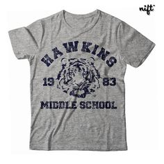Stranger things shirt https://www.etsy.com/listing/455668198/stranger-things-hawkins-middle-school