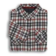 ***NEW FOR AUTUMN/WINTER*** Musto Plaid Shirt in Navy with Red http://www.aivly.co.uk/product_60555.htm