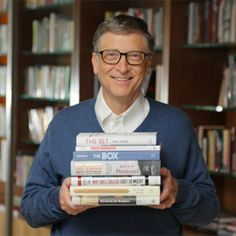 7 Books Bill Gates Thinks You Should Read Bill Gates is a busy man, but he still has time for reading. Check out his favorites from 2013. Chandra Steele December 13, 2013