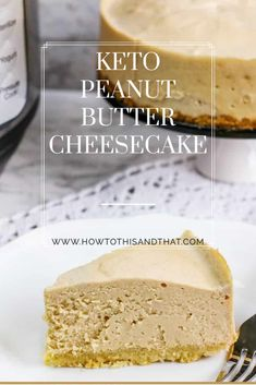 Cookies And Cream Cheesecake, Low Carb Cheesecake Recipe, Peanut Butter Cheesecake, Ketogenic Desserts, Low Carb Desserts, Healthy Dessert Recipes, Bar Recipes, Cream Recipes, Keto Snacks