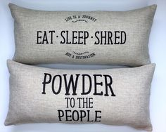 Snowboard Pillow