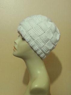 Crocheted Beanie Hat  Crochet Skullcap Beanie  by jazzicrafts