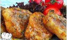 ΨΑΡΟΝΕΦΡΙ ΣΤΟ ΤΗΓΑΝΙ ΜΕ ΠΕΤΙΜΕΖΙ!!! Food Decoration, Tandoori Chicken, Pork, Food And Drink, Turkey, Pasta, Meat, Ethnic Recipes, Cake