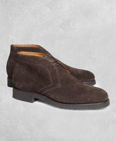a090e4547ac5a Brooks Brothers Golden Fleece Suede Chukka Boots