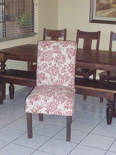 Parsons Chair ChairsReupholster FurnitureDining RoomsFurniture