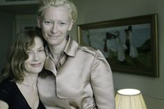 Tilda Swinton and Isabelle Huppert