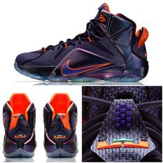 The Nike LeBron XII gets a new look. Get it here. #Basketball #Shoes