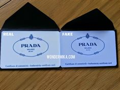 How to spot a fake Prada bag? See it here in pictures!