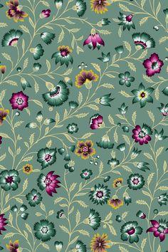 Beautiful Patterns, Home Textile, Screen Printing, Print Patterns, Interior Decorating, Colours, Wallpaper, Prints, Vintage
