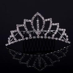 Buy 2013 Newest Arrival Rhinestone Crystal Pearl Tiaras Hair Wear ...