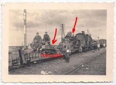 Foto 2 WK, Polen 1939, polnischer Beute Panzer auf Eisenbahn, Zug verladen, Top | eBay