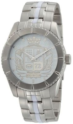 d4d8d37e6ba Marc Ecko Men s The Utmost Silver Bracelet Watch -