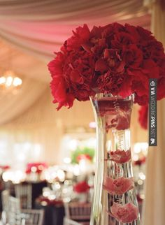 Sweet - Centerpiece (Frame 36 Photography) | CHECK OUT MORE GREAT RED WEDDING IDEAS AT WEDDINGPINS.NET | #weddings #wedding #red #redwedding #thecolorred #events #forweddings #ilovered #purple #fire #bright #hot #love #romance #valentines