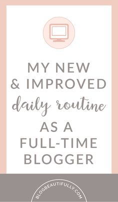 Looking to incorporate more balance, productivity, and enjoyment into your daily routine? Here's how I've crafted the perfect routine for babes who work from home! blogbeautifully.com