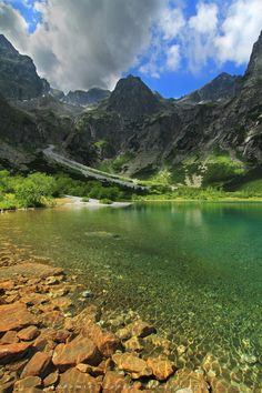 Places To Travel, Places To See, Travel Around The World, Around The Worlds, High Tatras, Heart Of Europe, Green Lake, Air France, Green Mountain