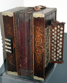 Harmonika Mozirje, Zagreb ethnography museum, Croatia
