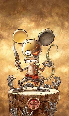Leo Ortolani - Prince of Persia (Colori Larry) Rat Man, Prince Of Persia, Rats, Larry, Stupid, Manga, Comics, Sleeve, Manga Anime