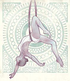 jpg by Drew Ellis Aerialist lg Aerial Dance, Aerial Hoop, Aerial Arts, Aerial Silks, Drawing Base, Figure Drawing, Drawing Sketches, Art Drawings, Circus Art