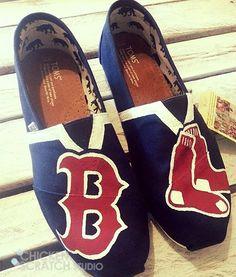 Boston Redsox custom hand painted...I want