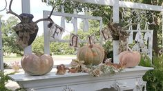Penny's Vintage Home: Fall Farmhouse Porch