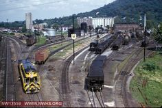 VGN H16-44 #44 at VGN Engine Terminal in Roanoke