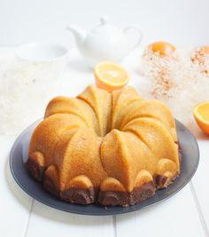 El Obrador de Javi: Bundtcake de naranja y chocolate