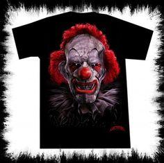 clown t shirt lucyfire-fashion