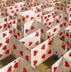 laberinto de corazones
