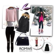 """""""Romwe 62"""" by zerina913 ❤ liked on Polyvore featuring New Look, SOREL and romwe"""