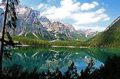 Lago Braies, Braies, Bolzano, Italy