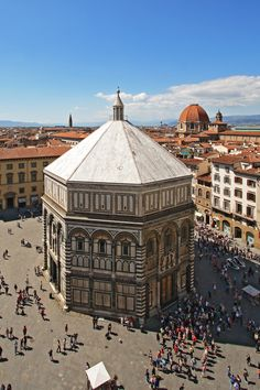 The Baptistery in Florence, #Italy. Impresionante obra!!