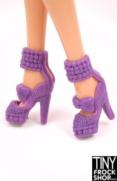 Barbie Beaded Cuff Bow Heel - MORE COLORS!!