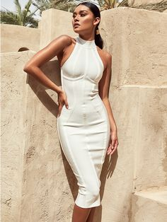 3fa56474bd2 213 Best Midi Bandage Bodycon Dresses images in 2019