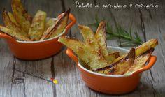 Patate al parmigiano e rosmarino - Vorrei diventare una brava cuoca....