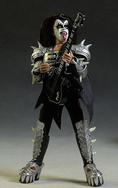 Kiss Action Figures, Kiss Merchandise, Gene Simmons Kiss, Vintage Kiss, Kiss Band, Star Children, Band Merch, Caricatures, Nfl Football