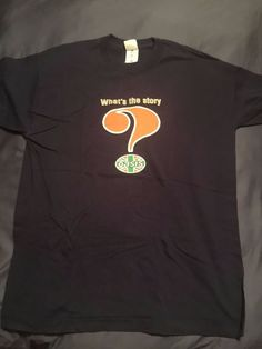 Oasis Official (What's the Story) Morning Glory? Tour Shirt - XL - Blue 1996