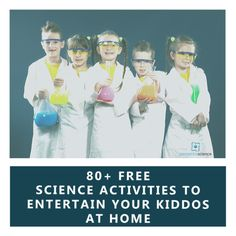 Stuck at home for the next few weeks with nothing to do? Here are over 80 free science activities from Elemental Science to get you through! Science Inquiry, Preschool Science, Science Activities, Science And Technology, Steam Activities, Science Fair Projects, Earth Science, Student Learning, Fun Ideas