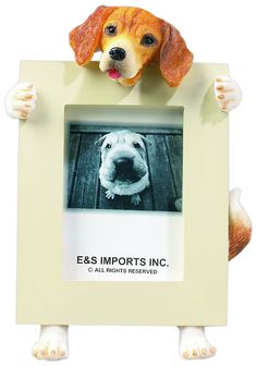 Beagle 2.5' x 3.5' Dog Photo Frame -- Remarkable product available now. : Dog Memorials