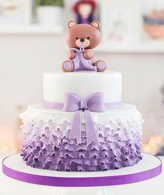 Tortas Baby Shower Niña, Gateau Baby Shower, Baby Shower Cakes, Baby Shower Cake Toppers, Baby Shower Cake Designs, Baby Girl Cakes, Baby Birthday Cakes, Decoracion Baby Shower Niña, Buttercream Cake Designs