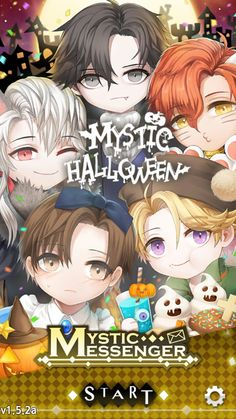 Mystic Messenger Hack Cheat Codes No Mod Apk Chibi Anime Manga