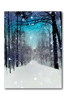 Christmas Canvas, Christmas Paintings, Fall Paintings, Christmas 2019, Canvas Frame, Canvas Wall Art, Winter Painting, Winter Trees, Tree Designs