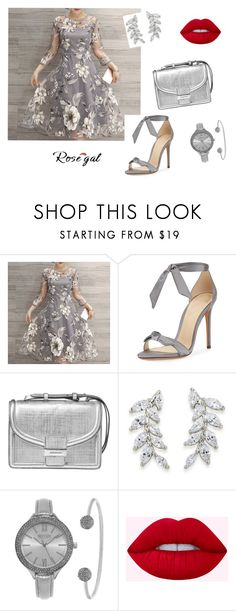 """""""Untitled #32"""" by nihanbr ❤ liked on Polyvore featuring Alexandre Birman, Dries Van Noten, Carolee and SO & CO"""