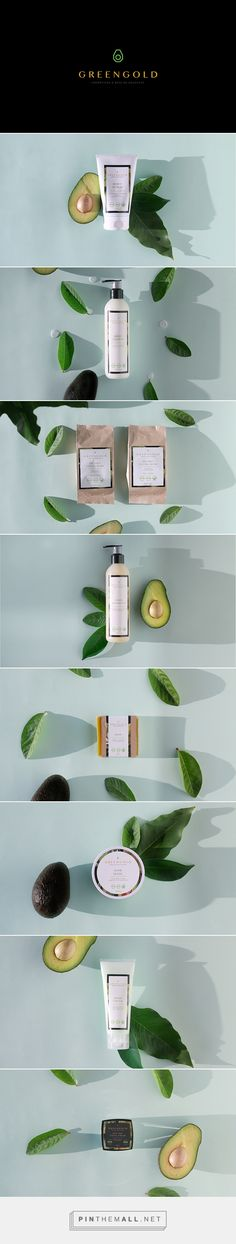 Green Gold // avocado cosmetics and beauty supplies.