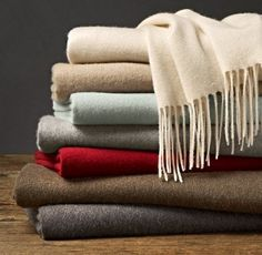 100% Cashmere Throw....Love it!!
