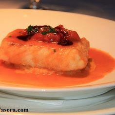 Mero al horno. Receta de pescados ligera y sencilla   Recetas de Cocina Casera