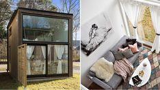 Kika in i trendiga minihuset på 20 kvadrat