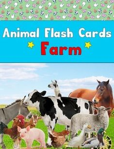 Using real animal images, this pack has 18 labeled animal flash cards depicting animals commonly kept on the farm.=====================================Options for Use:- Identify animals by name- Identify graphemes (Letters)- Identify phonemes (Sounds)- Sort animals by movement- Sort animals by habitat- Compare animals diets- Compare animals size=====================================The animals included:BullCatChickenCowDogDonkeyDuck (Mallard)Duck (White)GoatGoose (Canada)Goose…