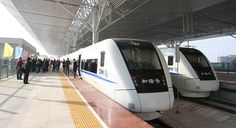 The High Speed Train To Haikou. It's easy to explore Haikou and the surrounds with the high speed railway link.
